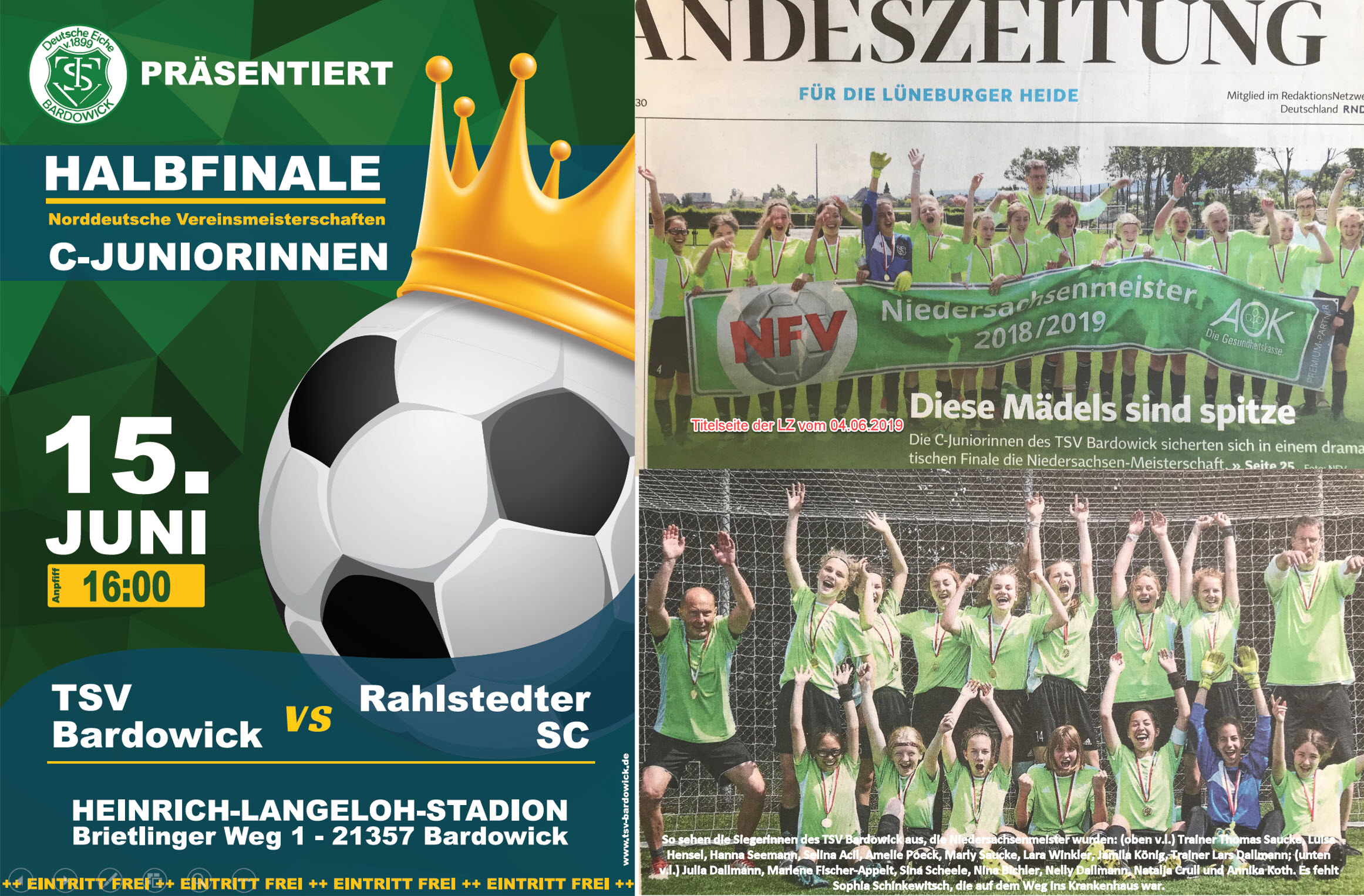 Halbfinale der Norddeutschen Meisterschaft
