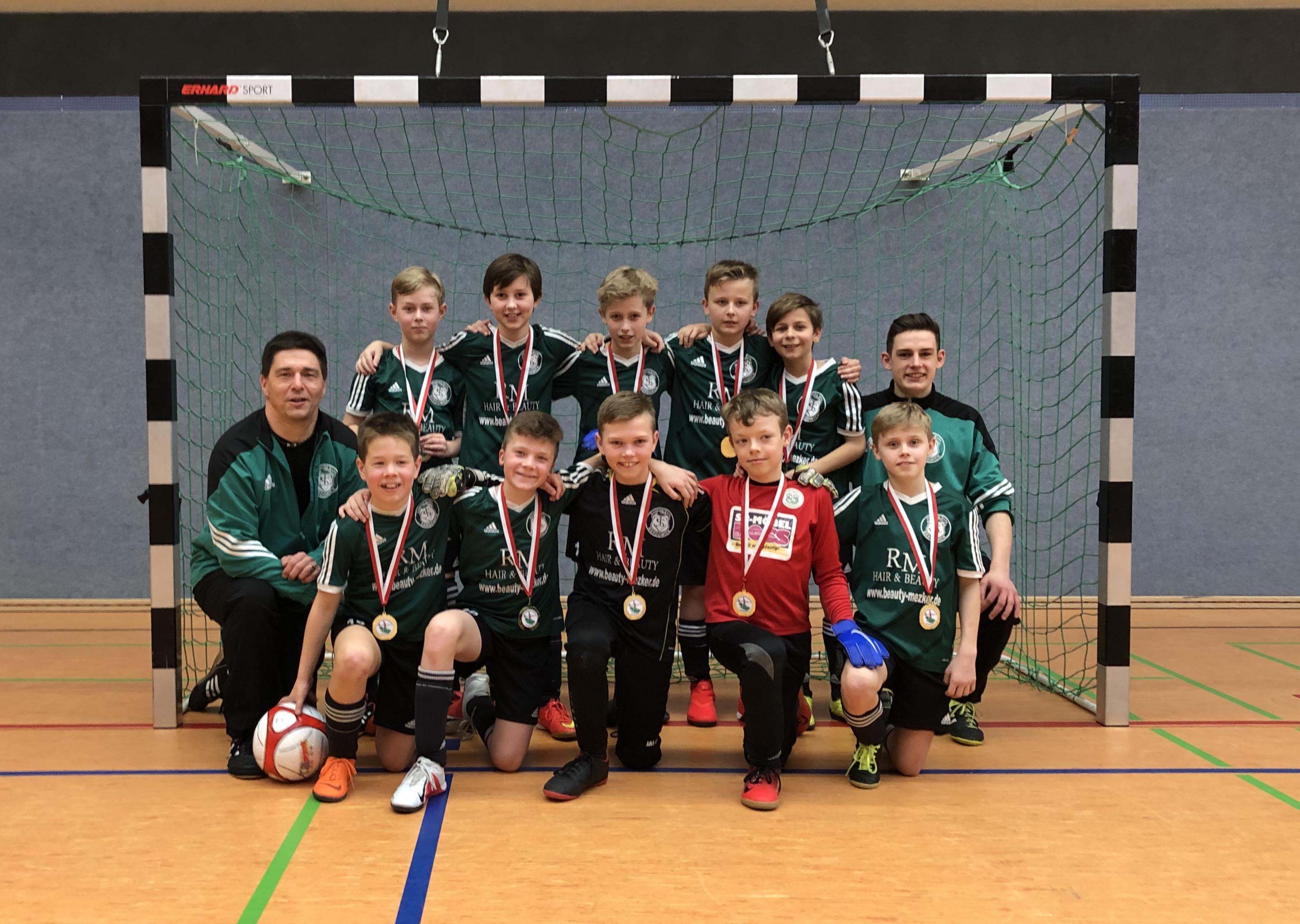 U11-Junioren des TSV Bardowick werden Hallen-Bezirksmeister