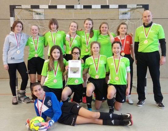 Hallenkreismeister 2019 der C-Juniorinnen: TSV Bardowick
