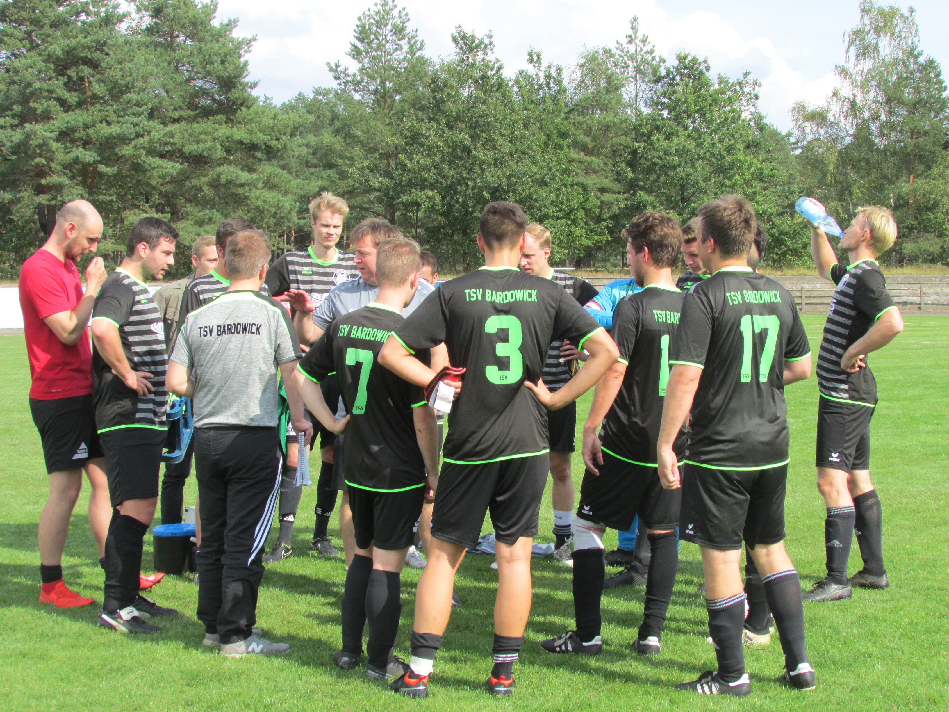 TSV Bardowick II mit verdientem Remis gegen Tabellenführer