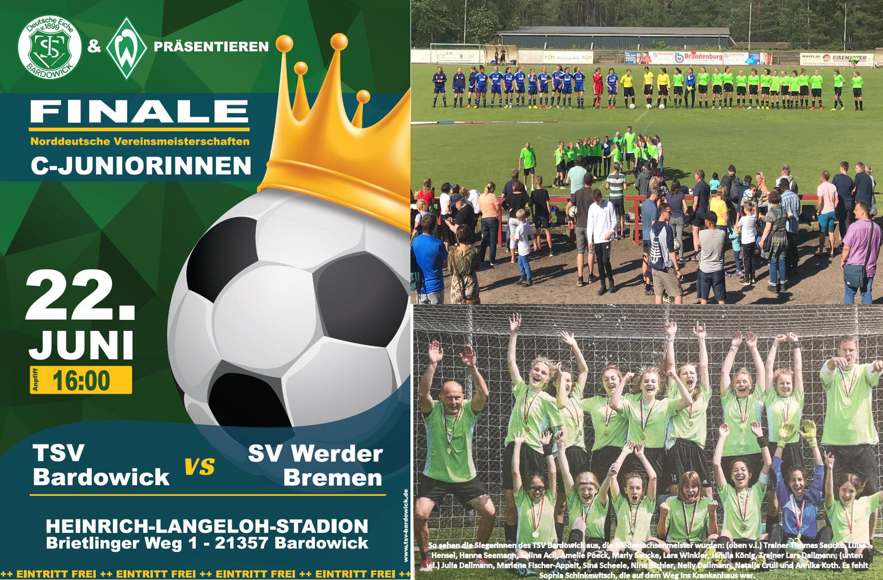 Finale der Norddeutschen Meisterschaft in Bardowick